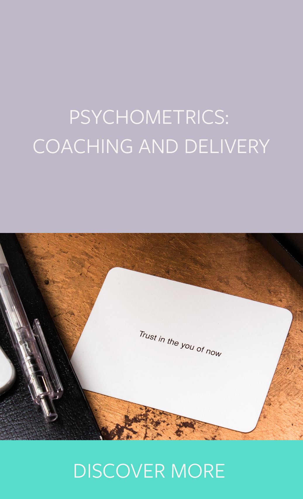 Psychometrics coaching and delivery
