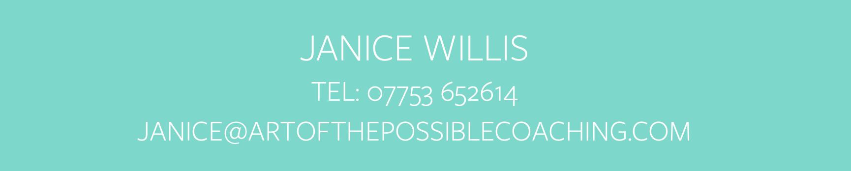 Contact Janice Willis